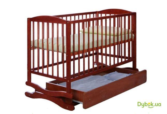 Детская кровать маятник + Матрас ортопедический Венето