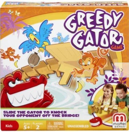 MATTEL GRA ZRĘCZNOŚCIOWA głodny aligator- X8733