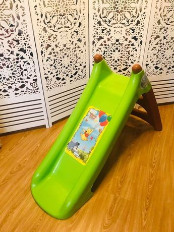 SMOBY Disney Винни Пух - супер горка для квартиры дома улицы бассейна