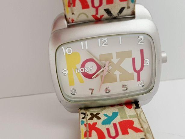 Часы женские roxy, кварц, ремешок из натуральной кожи.