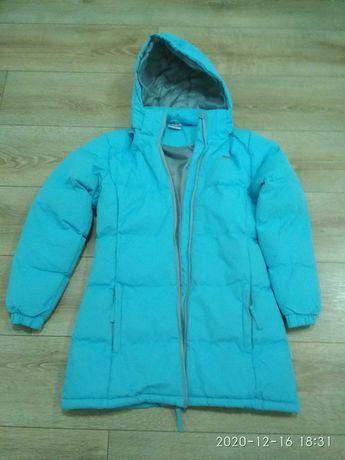 Куртка - пуховик, для девочки 11-12 лет