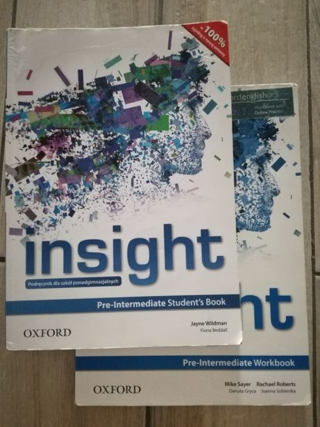 Insight Pre-Intermediate podręcznik + ćwiczenia