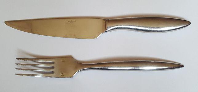 Nóż i widelec do krojenia mięs - Zepter Edelstahl - dostawa w cenie