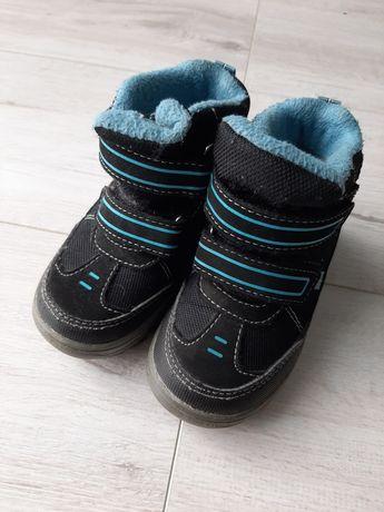 Buty zimowe, śniegowce r.23