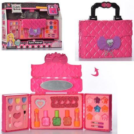 детская косметика 77030 - сумочка косметичка, маникюрный набор