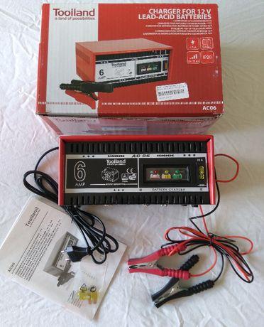 Carregador para baterias de 12V