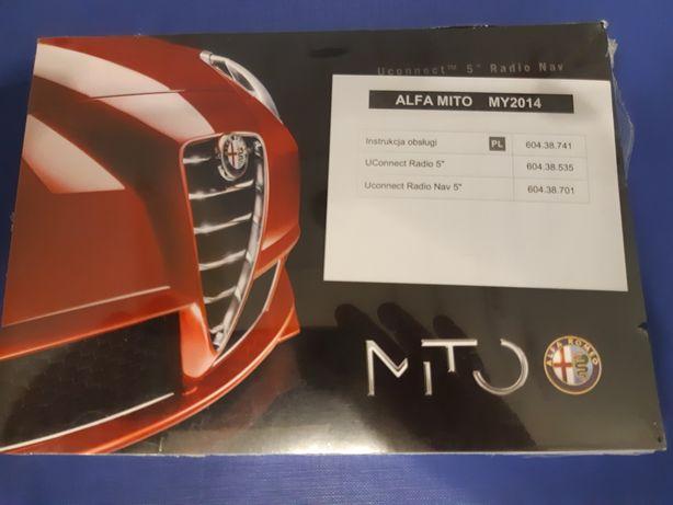 Instrukcje obsługi Alfa Romeo Mito