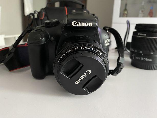 Canon 1100D + 2 obiektywy
