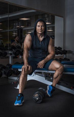 Персональный фитнес-тренер. Профессиональный массаж. Диетолог.