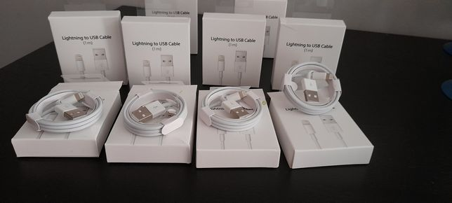 2 Cabos USB Para iPhone, Smartphone, iPod... NOVOS