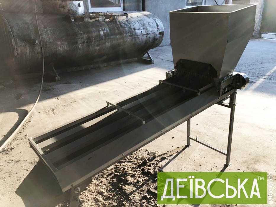 Лінійний калібратор горіха (до 200 кг/год)