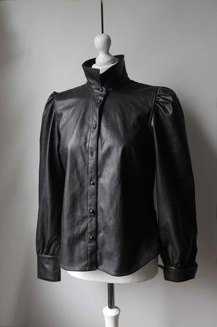 Vero Moda koszula z eko skóry vintage gothic rock