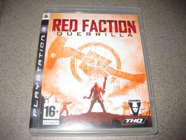 "Jogo PS3 ""Red Faction-Guerrilla"" (Completo e Novo)"