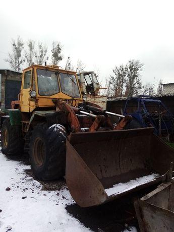 Трактор Т-156 с двигателем ЯМЗ-236.
