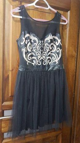 Sukienka princeska, rozmiar 36 S, czarna