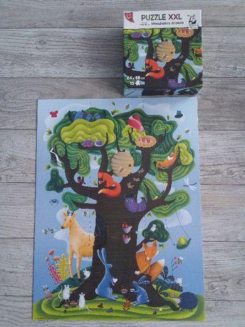 Puzzle XXL (drzewo, plac zabaw), 2-4