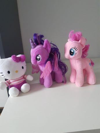 Pluszaki My Little pony i Hello Kitty