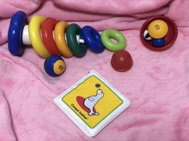 Игрушки детские для самых маленьких