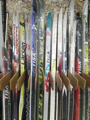 Лыжи, палки, ботинки, крепления, смазки, парафины, инструмент
