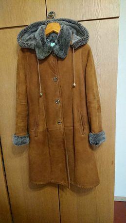 Дублёнка зимнее пальто 38 р.