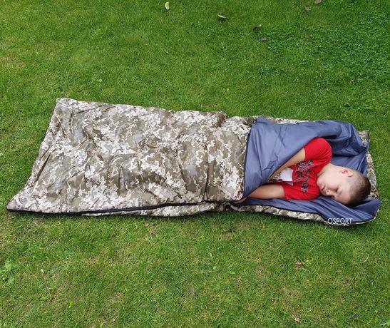 Спальный мешок/спальник/одеяло в палатку на каремат/коврик лето Medium