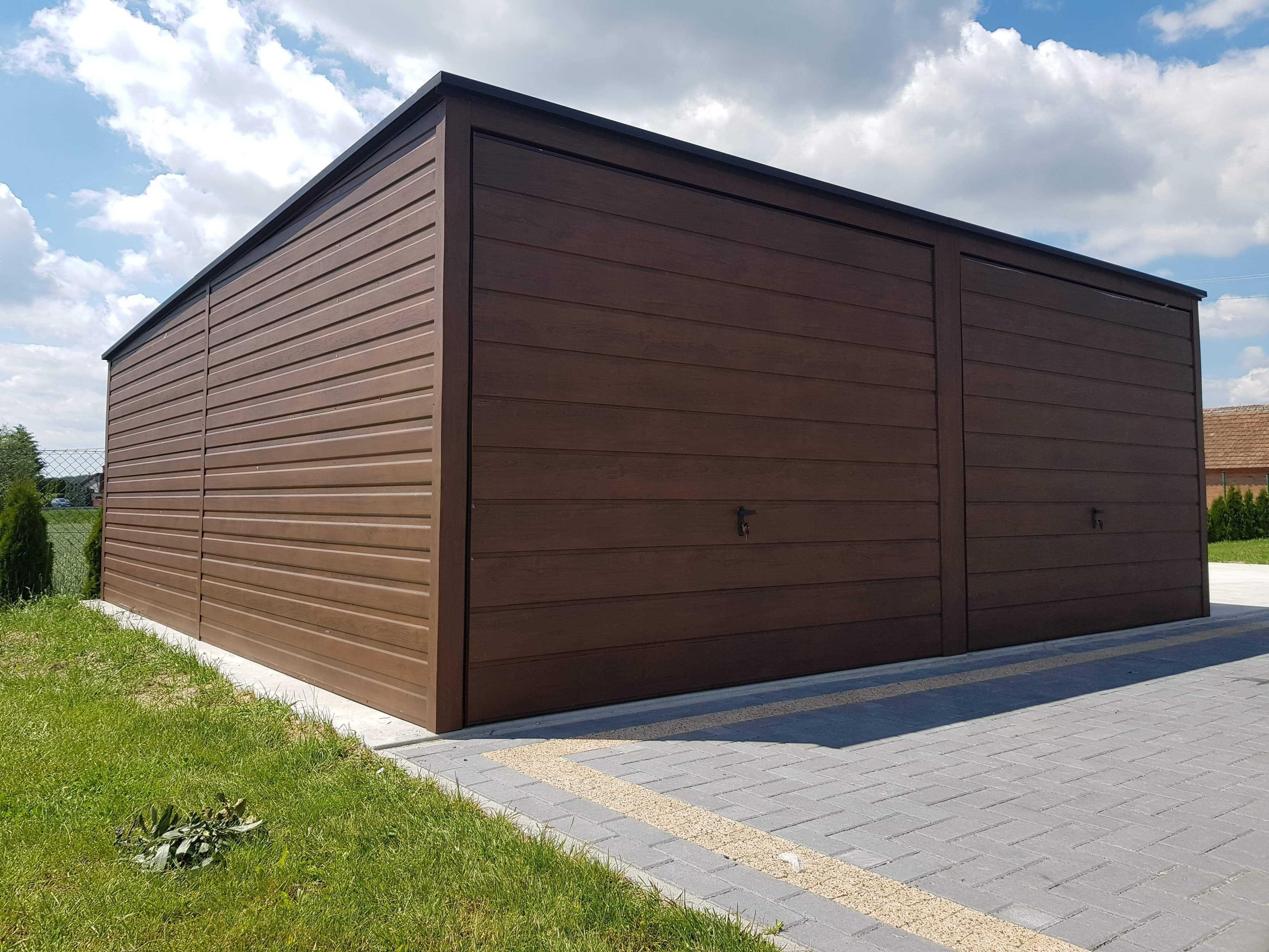 Drewnopodobny Garaż Garaże Tuchola Grudziądz Producent