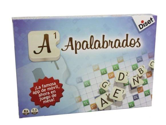Diset Scrable hiszpańskie, powystawowe, idealne do nauki języka