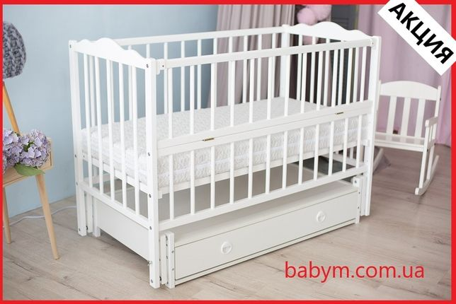 Дитяче ліжечко/колиска/кроватка /БЕЗКОШТОВНА ДОСТАВКА/Він