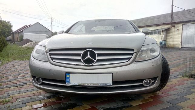 Продам премиальный Mercedes-Benz CL 500 2006