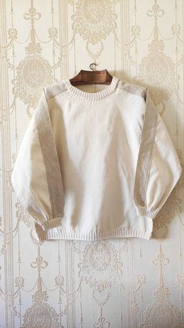 Sweatshirt de linho handmade