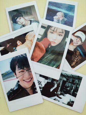 Kpop polaroids fanmade