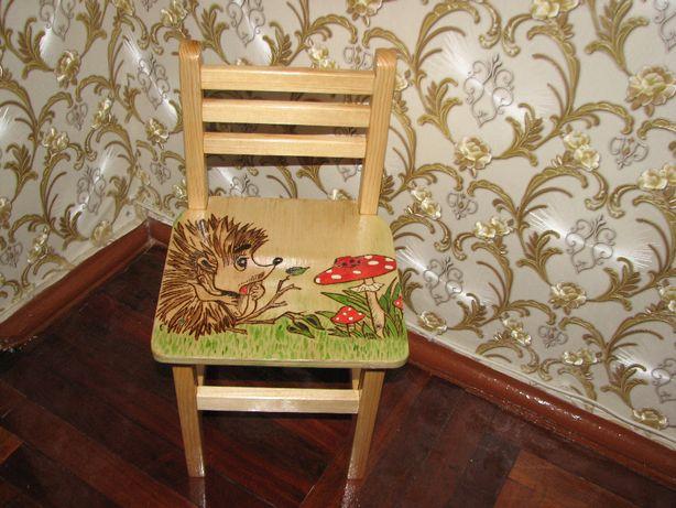 стул, стульчик детский.