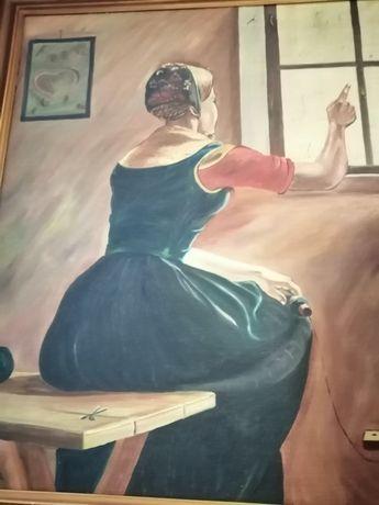 Obraz w stylu Tamary Lempickiej