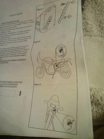 Сигнализация на мотоцикл piranha cs 55a-56a-58a(оригинал Италия)