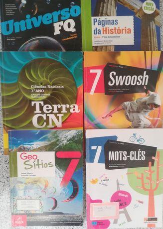 Manuais + Cadernos de Exercícios do 7º ano