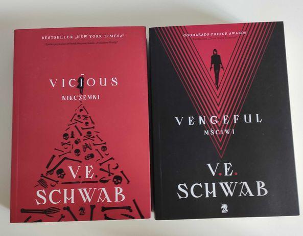 Vicious Nikczemni oraz Vengeful Mściwi - V. E. Schwab