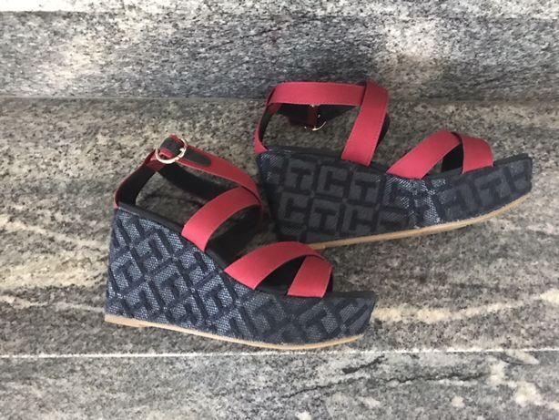 Buty damskie sandały 40 Tommy Hilfiger