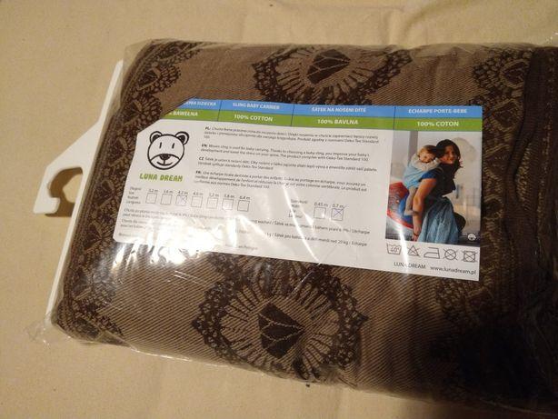 Chusta wiązana do noszenia dziecka Luna Dream 100% bawełna 4,2m nowa!