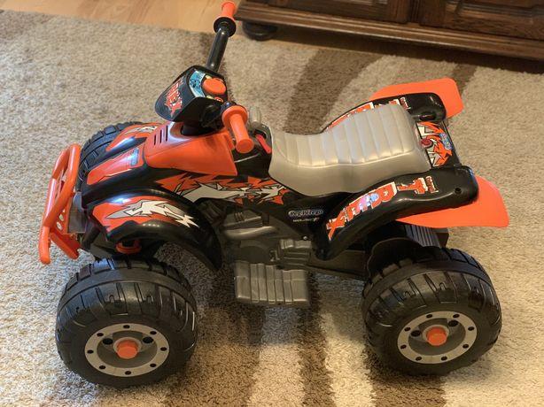 Quad Peg Peregro T-rex orange na akumulator 12V