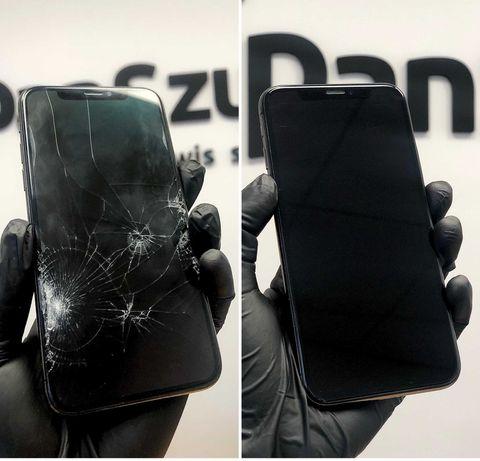 Naprawa Wymiana Szybki iPhone 12 11 Xr Xs X 8 7 6s 6 SE NAWET DO 24H!