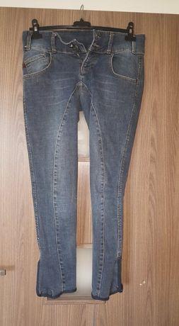 Bryczesy jeansowe HKM r.36