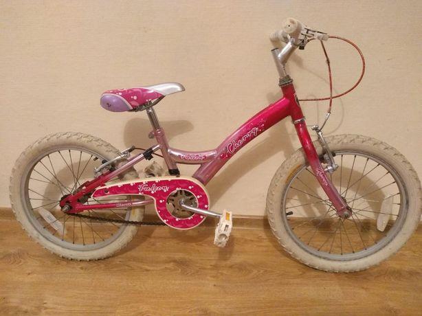 Rower rowerek dziecięcy dla dziewczynki różowy dziewczęcy 18 cali j20