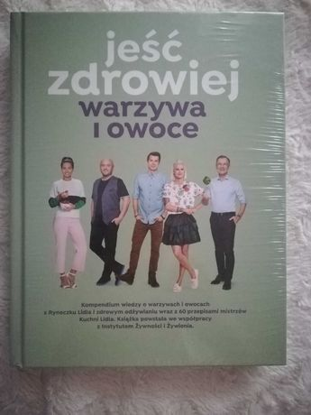 Nowa, zafoliowana książka Lidl Gratis do dwóch książek