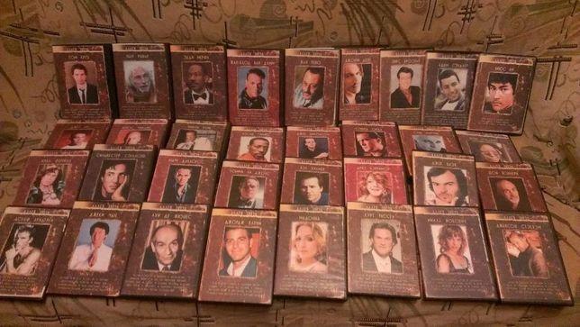 коллекция DVD дисков по актерам