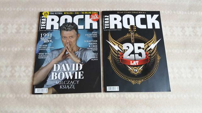 Teraz Rock magazyn muzyczny 1/2016, 9/2016 stan idealny