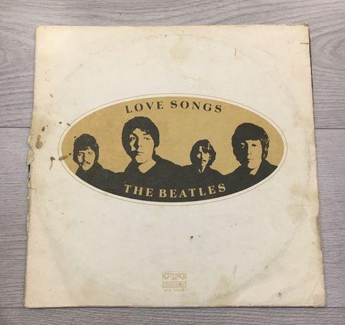 Виниловые пластинки The Beatles Love Songs 1977. Альбом . Vinyl.
