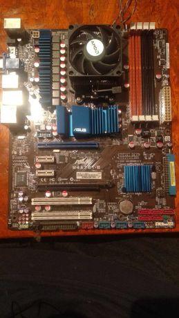 Комплект материнская плата (asus m4a78t-e) и процессор)