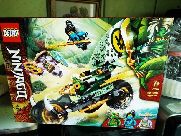 Lego Ninjago, Dżunglowy Chopper Lloyda, 71745,zaplombowane