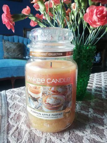 Świeca Yankee Candle Pumpkin Apple Parfait duży słój 623 g