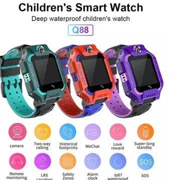 Детские умные часы Smart Baby Watch Q88 розумний годиник часы смарт Киев - изображение 1